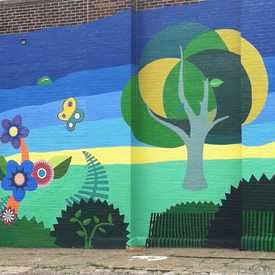 Photo of Beautiful Wall Mural
