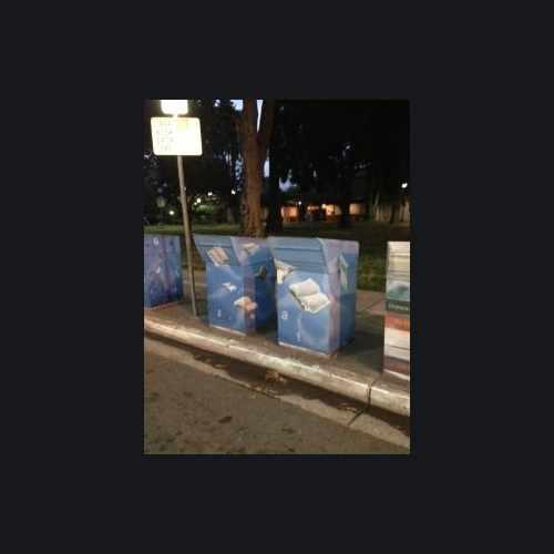 photo of Cute book return boxes #NorthHayward at 22650 Main Street Hayward CA 94541