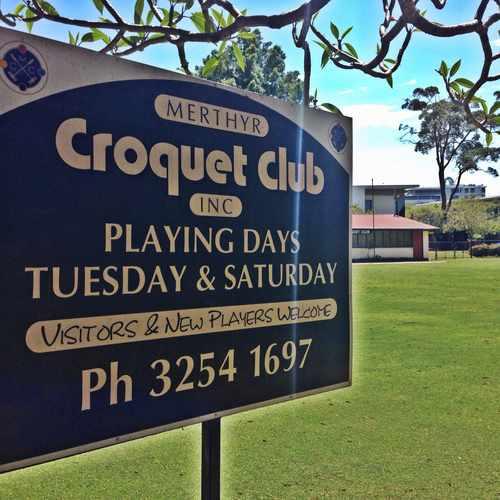 photo of Merthyr Croquet Club at 13 Hopetoun Way New Farm QLD Australia