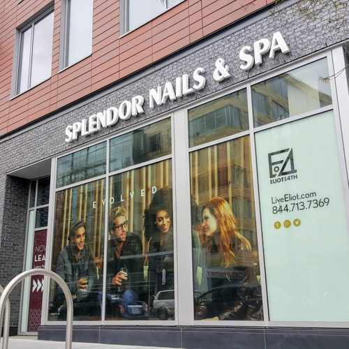 photo of Splendor Nails & Spa at 1001 4th Street Southwest Washington DC 20024