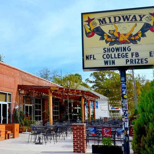 photo of The Midway Pub at 552 Flat Shoals Avenue Southeast Atlanta GA 30316