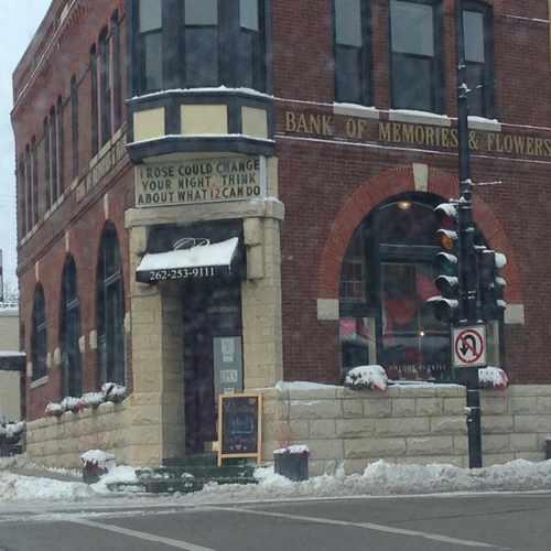 photo of Bank of Memories & Flowers at Appleton Avenue Menomonee Falls WI US