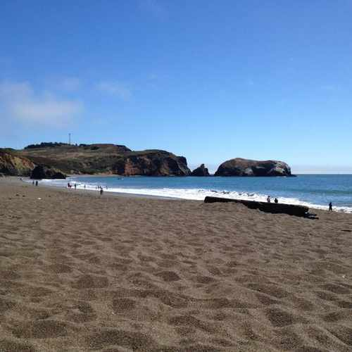 photo of Rodeo Beach at Mitchell Rd Sausalito CA 94965