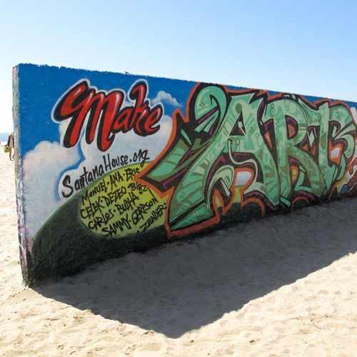 photo of Venice Public Graffiti Art Walls at 1800 Ocean Front Walk Los Angeles CA 90291