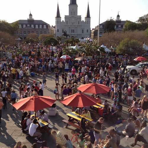 photo of Jackson Square at 500 Saint Ann Street New Orleans LA 70116