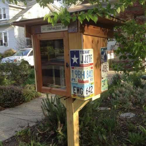 photo of Takoma Little Free Library #5646 at 408 Aspen Street Northwest Washington DC 20012