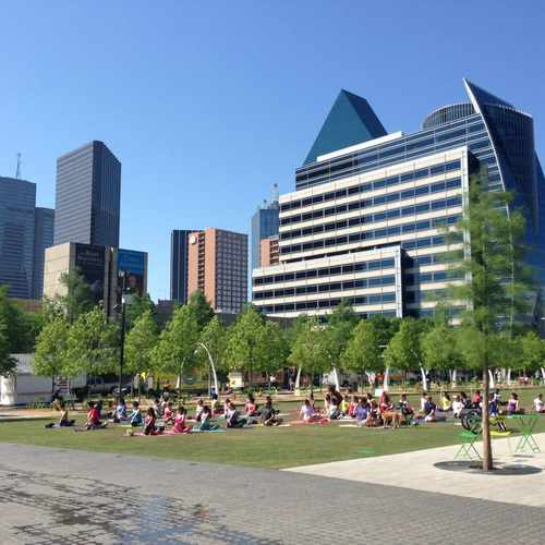 photo of Klyde Warren Park at 2012 Woodall Rodgers Freeway Dallas TX 75201
