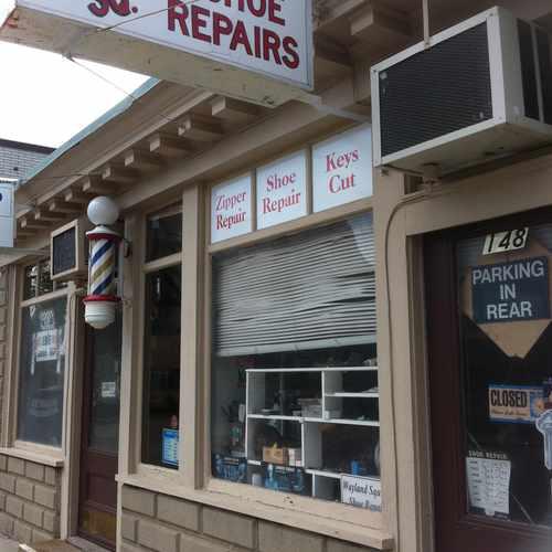 photo of Wayland Sq Shoe Repair at 106 East Manning Street Providence RI 02906