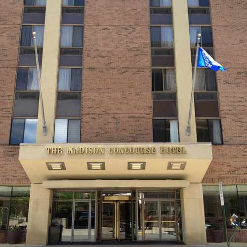 photo of Madison Concourse Hotel at 1 West Dayton Street Madison WI 53703