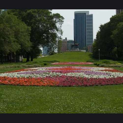 photo of Grant Park at South Michigan Avenue Chicago IL US