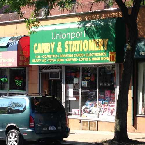 photo of Unionport Candy & Stationary at 1591 Metropolitan Avenue Bronx NY 10462