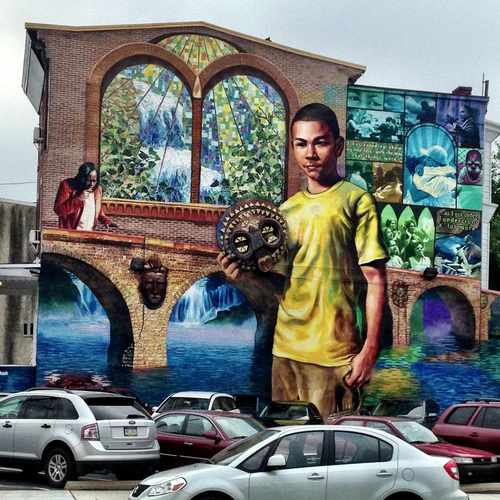 photo of CPMAP 52nd And Master St Mural at 1320 North 52nd Street Philadelphia PA 19131