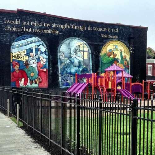 photo of Bible Way Playground at 1320 North 52nd Street Philadelphia PA 19131