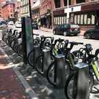 Photo of Hubway: Faneuil Hall - Union St. at North St. in Downtown, Boston