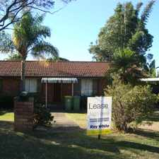Rental info for OPEN HOME CANCELLED - 31 AUG 13 - Neat & Tidy Three Bedroom Home!