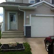 Rental info for Edmonton Duplex for rent in the Clareview Campus area