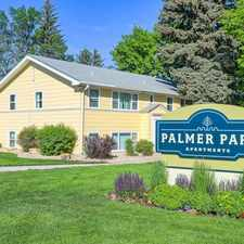 Rental info for Palmer Park in the Patty Jewett area