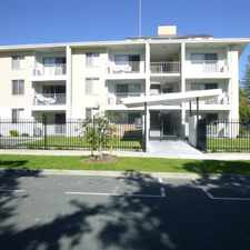 Rental info for A MODERN FULLY RENOVATED PARTIALLY FURNISHED APARTMENT INC. ALL APPLIANCES! 13MTH LEASE/ 1 X FREE WEEK RENT in the South Perth area