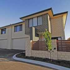 Rental info for QUALITY TOWN HOUSE IN A QUIET COMPLEX in the Perth area