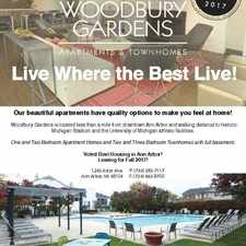 Rental info for Woodbury Gardens Apartments and Townhomes in the Ann Arbor area