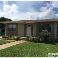 Rental info for Nice 2/1 single family home in the Riviera Beach area