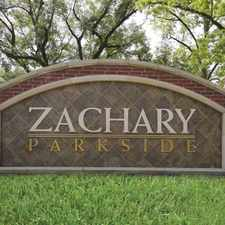 Rental info for Zachary Parkside