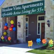 Rental info for Meadow Vista Senior Apartments in the Weatherford area