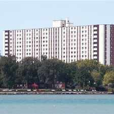 Rental info for River Towers in the Detroit area