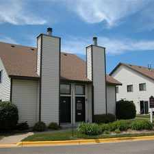 Rental info for Lofts of Sand Creek - Unique Lofted Floorplan in the Coon Rapids area