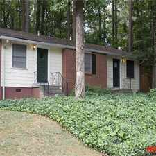 Rental info for 109-121 Springdale Street in the Decatur area
