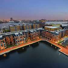 Rental info for Union Wharf Apartments in the Baltimore area