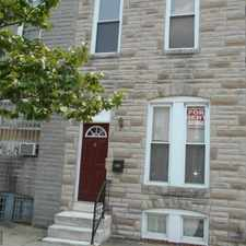Rental info for Will rent as a 2 or 3 bedroom. Close to Camden Yards and Carroll park. Certified Lead Free. in the Washington Village area