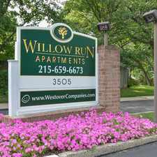 Rental info for Willow Run Apartments