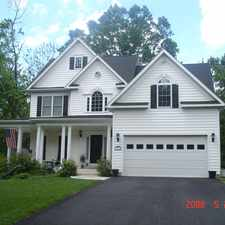 Rental info for INCREDIBLE HOME IN HISTORIC DOWNTOWN CITY OF MANASSAS - WALK TO EVERYTHING - PERFECT FOR A FAMILY WITH DOGS