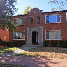 Rental info for 5339 Jamieson in the St. Louis Hills area