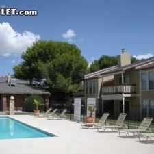 Rental info for $704 1 bedroom Apartment in Central El Paso in the Vista Hills Park area