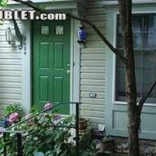 Rental info for $3200 3 bedroom Townhouse in Arlington in the Columbia Heights - West area