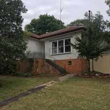 Rental info for Three bedroom family home