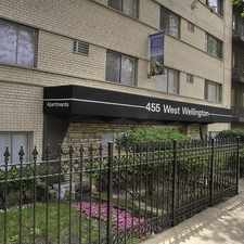 Rental info for 455 W. Wellington in the Chicago area