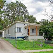 Rental info for Refurbished 3 Bedroom Home in the Moggill area