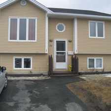 Rental info for 71A Winslow Street in the St. John's area