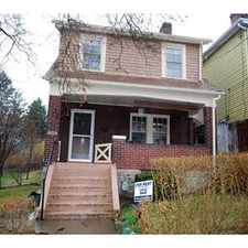 Rental info for Wonderful brick home with hardwood floor throughou in the Hazelwood area
