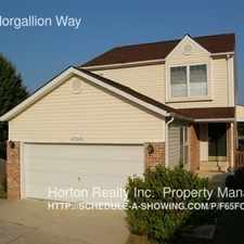 Rental info for 45565 Morgallion Way