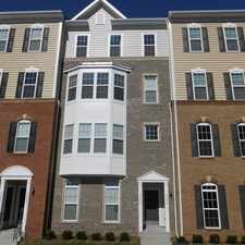 Rental info for 43830 Kingston Station Terrace - Luxurious Brand New 3 BR, 2.5 BA, 2 level Townhouse Condo in Ashburn!