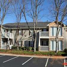 Rental info for Preserve at Dunwoody