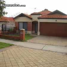 Rental info for 18600 4 bedroom House in Perth Metro Cottesloe in the Perth area