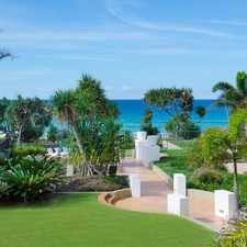 Rental info for Magnificent beachfront designer apartment in the Palm Beach area