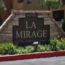 Rental info for La Mirage in the Albuquerque area