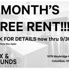 Rental info for Fox and Hounds in the Governours Square area