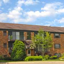 Rental info for Cedarwood Village Apartments in the Akron area